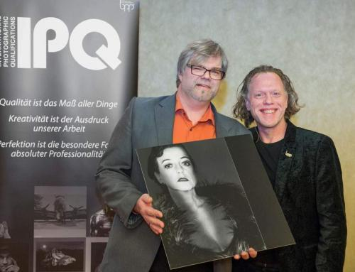 "Internationale IPQ Auszeichnung ""International Photographer of High Performance"""